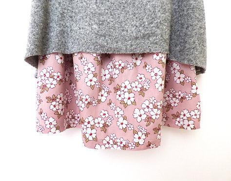 Falda Flores de Almendro de Mujer