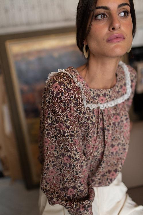 Blusa Ernestina Flores