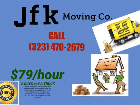 JFK Moving Co. offers $79/hour