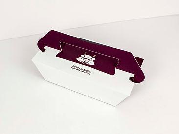 Japan Samurai Takeout Box