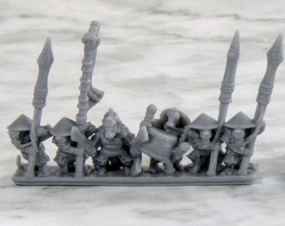 3D printed Ashigaru