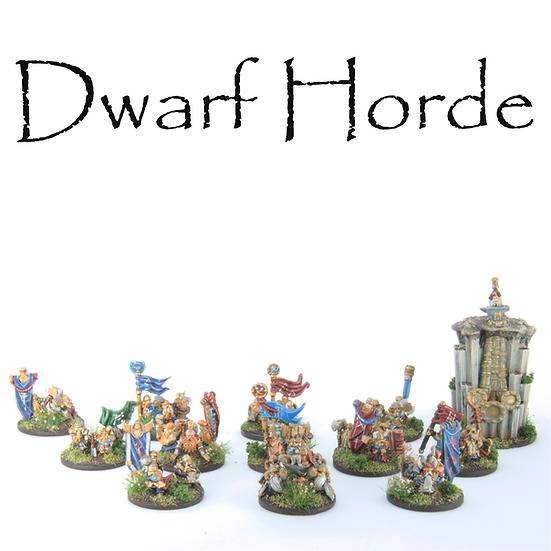 Dwarf Horde Army