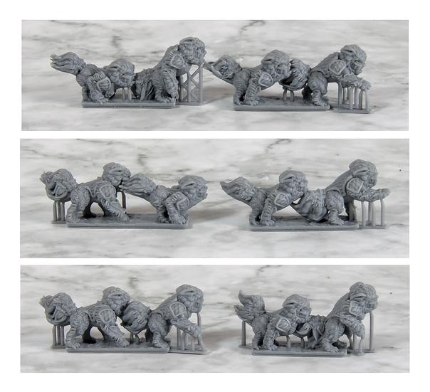 3D printed Komainu
