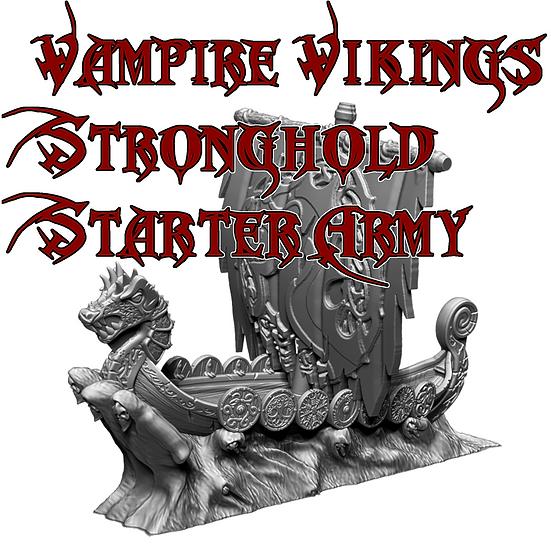 Vampire Vikings Stronghold Starter Army
