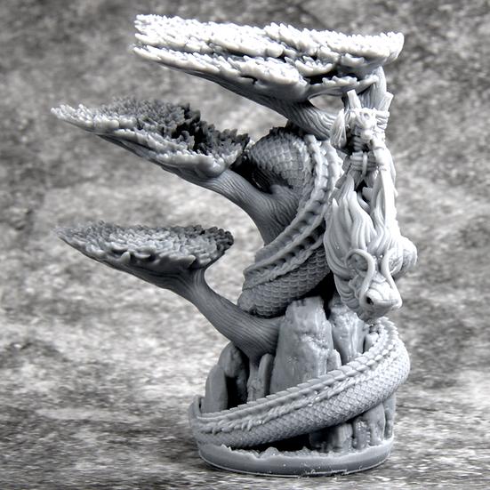 3D Printed Tatsu (With Tree)