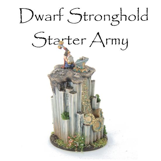 Dwarf Stronghold: Starter Army