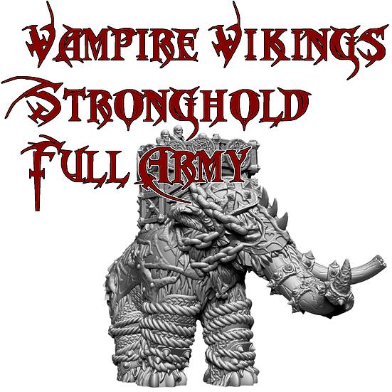 Vampire Vikings Stronghold Full Army