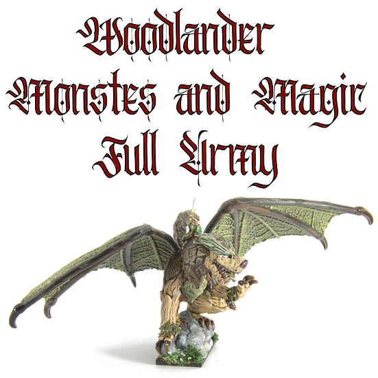 Woodlanders Monsters and Magic: Full Army