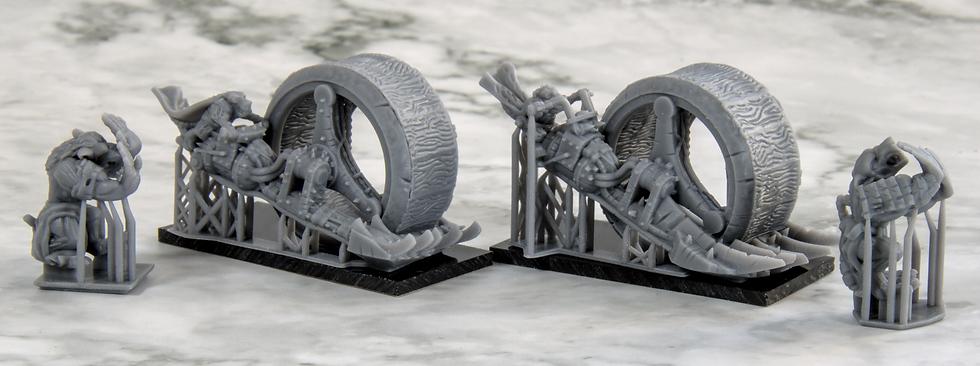 3D Printed Rat Rollers
