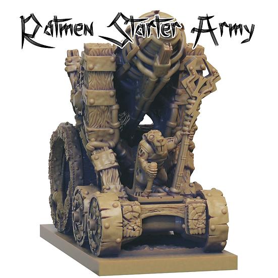 3D Printed Ratmen Starter Army