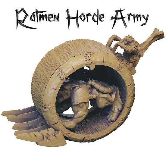 3D Printed Ratmen Horde