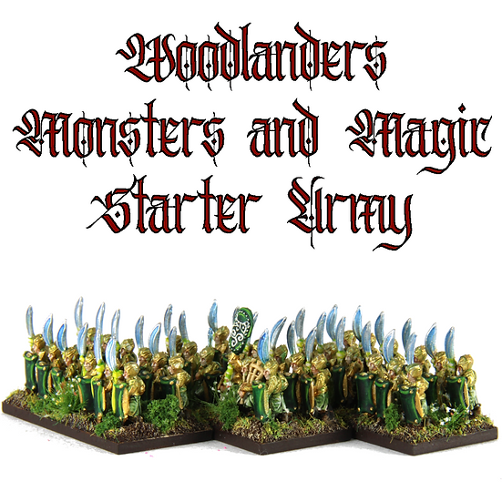 Woodlanders Monsters and Magic: Starter Army