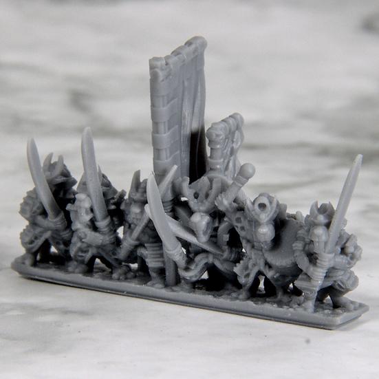 3D Printed Samurai Ratmen