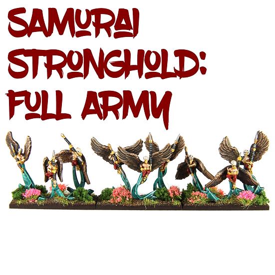 Samurai Ratmen Stronghold: Full Army