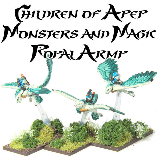 Children Of Apep Monsters and Magic Royal Army