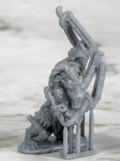 3D printed Rat Golems