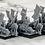 Thumbnail: 3D printed Mounted Samurai Ratmen
