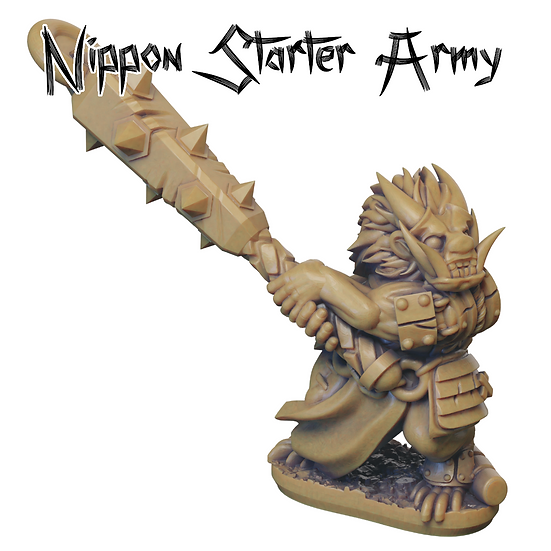 3D Printed Nippon Starter Army