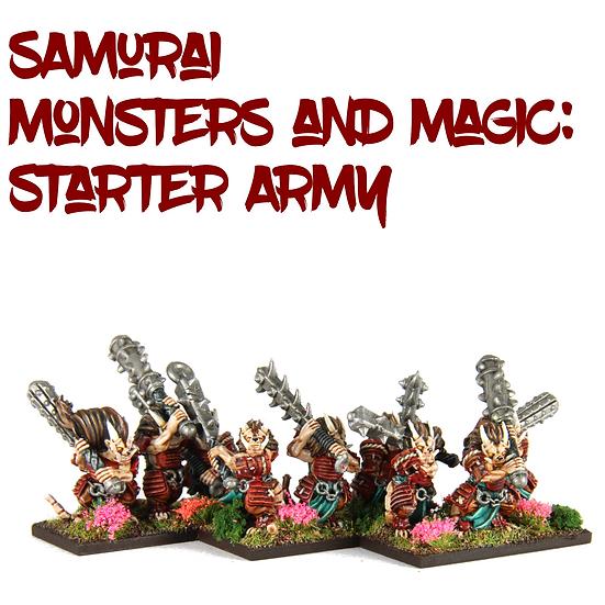 Samurai Ratmen Monsters and Magic: Starter Army