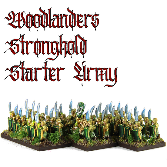 Woodlanders Stronghold: Starter Army