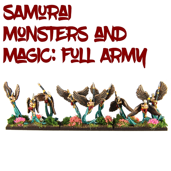 Samurai Ratmen Monsters and Magic: Full Army