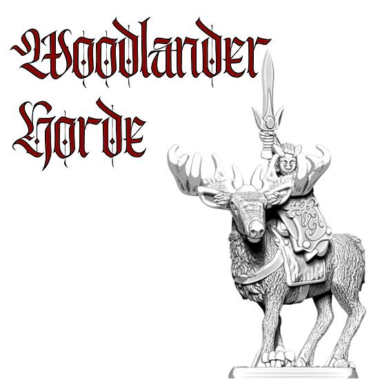Woodlanders Horde Army