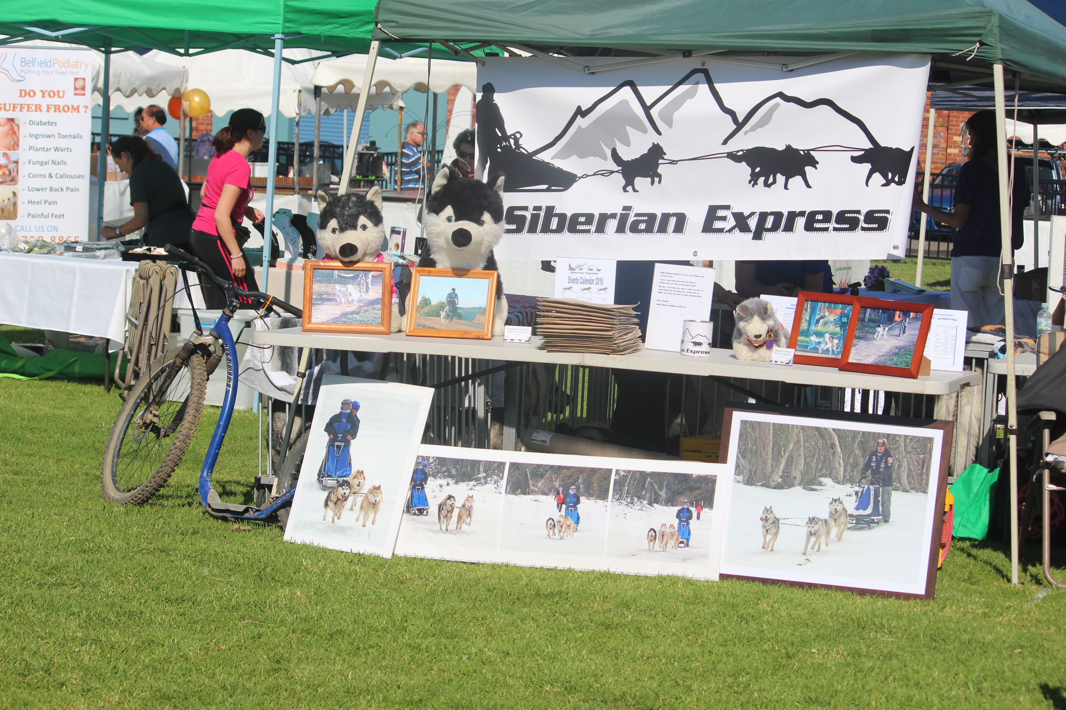 Siberian Express Event Display