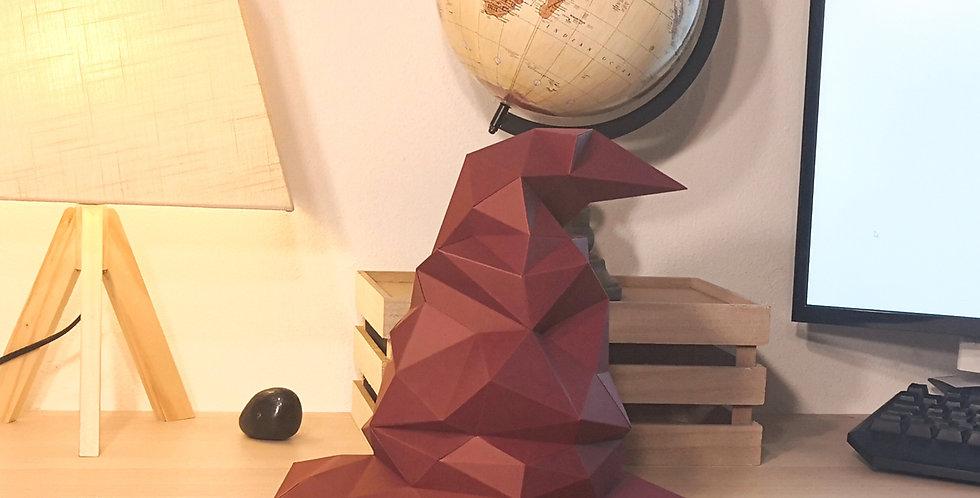 Choixpeau Harry Potter / Sorting Hat - Puzzle 3D papercraft
