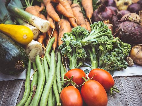 Grand panier de légumes