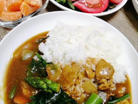 春に美味しい野菜を使ったゴハン