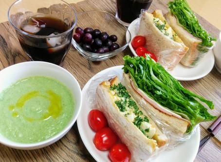 レタスと愛情をパンパンに詰めたサンドイッチ