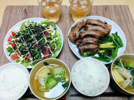 夏野菜を食べる~テクテク食堂