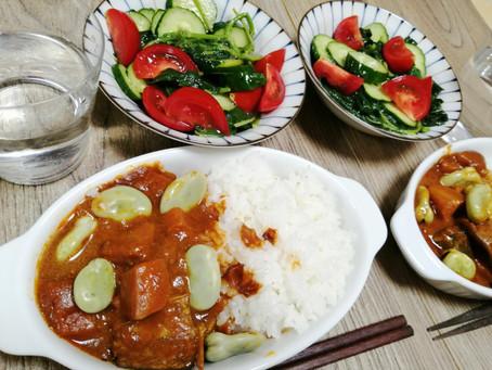 夏におすすめの野菜カレー!