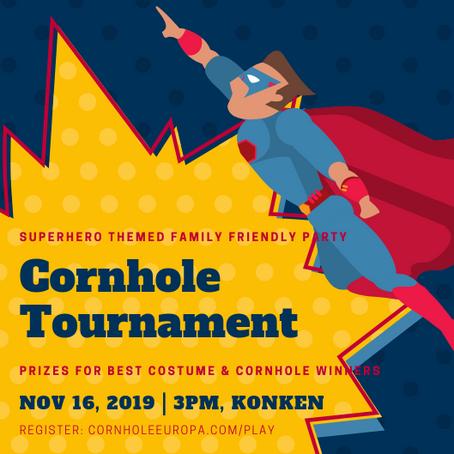 No.1 KMC Social Sports Event: 4th Annual Konken Cornhole Charity Tournament