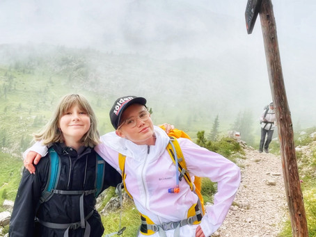 Hiking in the Alps in Summer, How to Pack for the Alta Via 1 Trail in the Dolomites with Kids