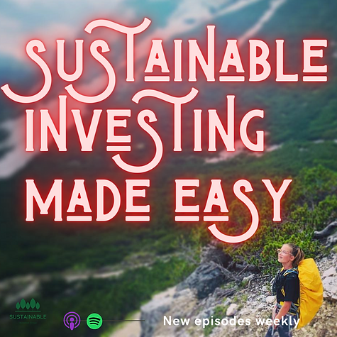 Sustainbel invest made easy podcast cove