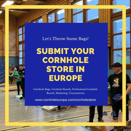 Find a Cornhole Store in Europe