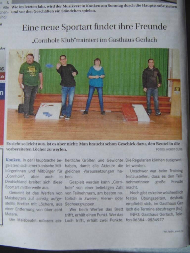 Konken Cornhole Club