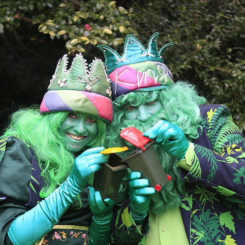 The King and Queen of Green in the Realm of Rubbish