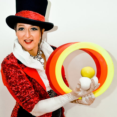 Circus Juggle Challenge by Heidi Hiller