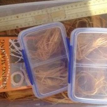 Bark Fibre String Making Kit and DVD