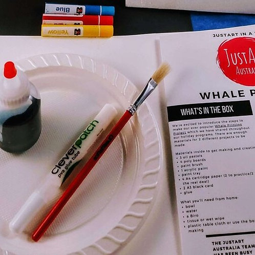 JustArt in a Box - Whale Printing