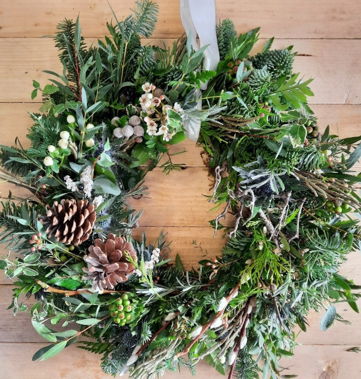 Natural Festive Wreath SOLD OUT