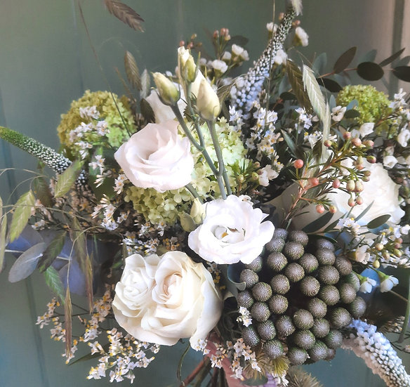 Effie - Hand Tied Wrapped Bouquet