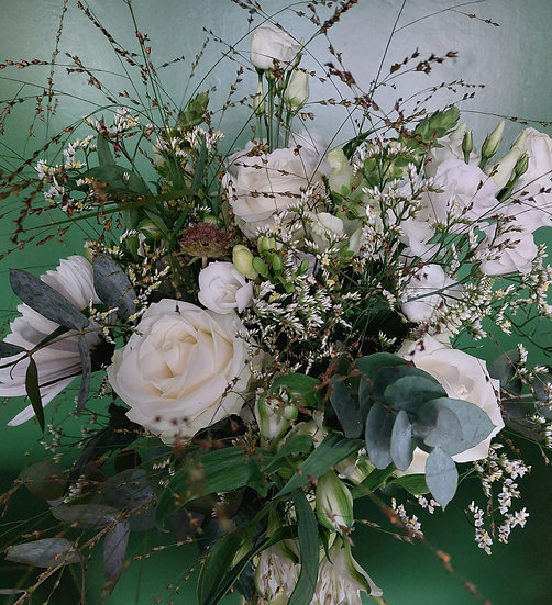 Mabel - Hand Tied Bouquet Wrap