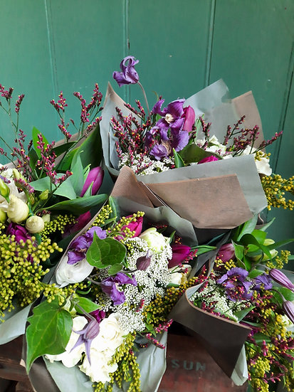 Fresh Posy Wrap - Also available to buy from the bolt hole store