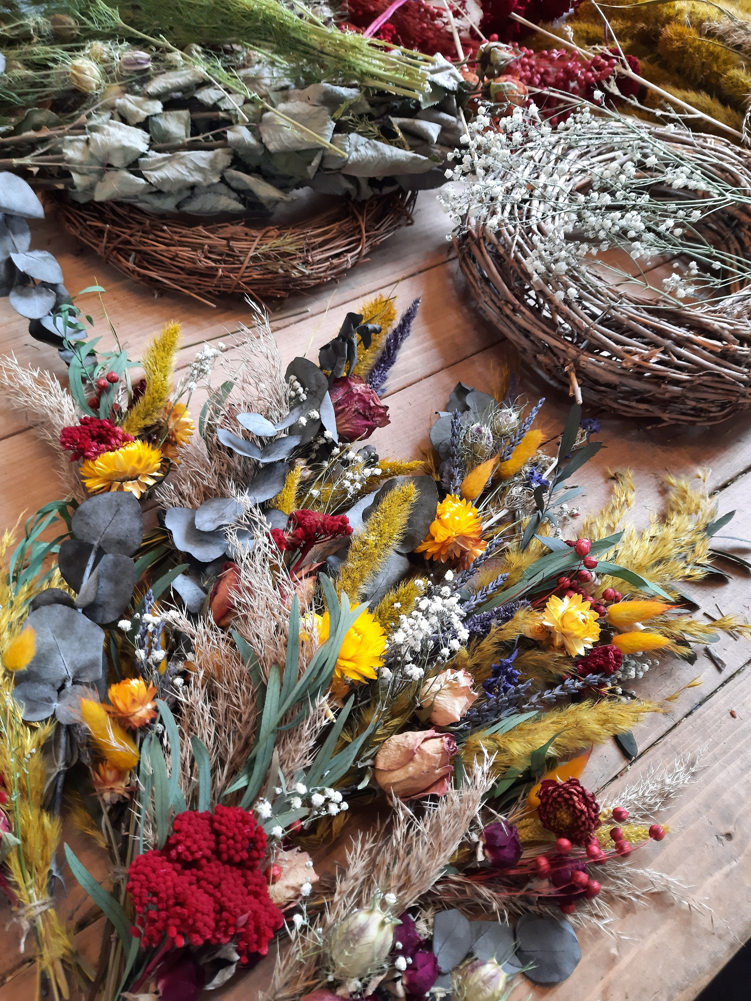 Autumn Dried Wreath - SOLD OUT