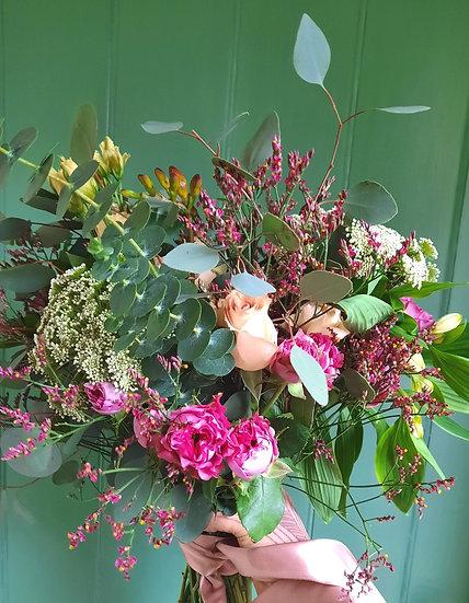 Nina - Hand-Tied Bouquet Wrap