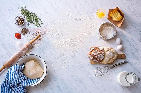 Frisches Brot Zusammensetzung