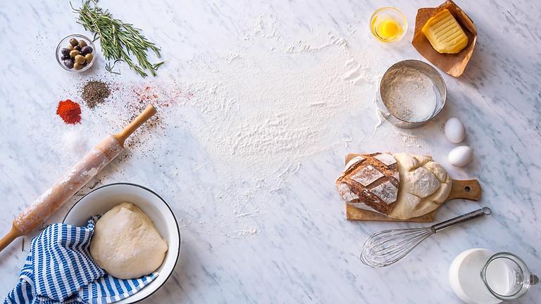 Atelier fabrication de pate à pain à partir de la farine complète corse 10h45